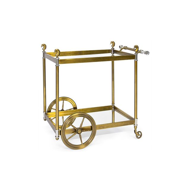 Jonathan Adler Cheval Bar Cart