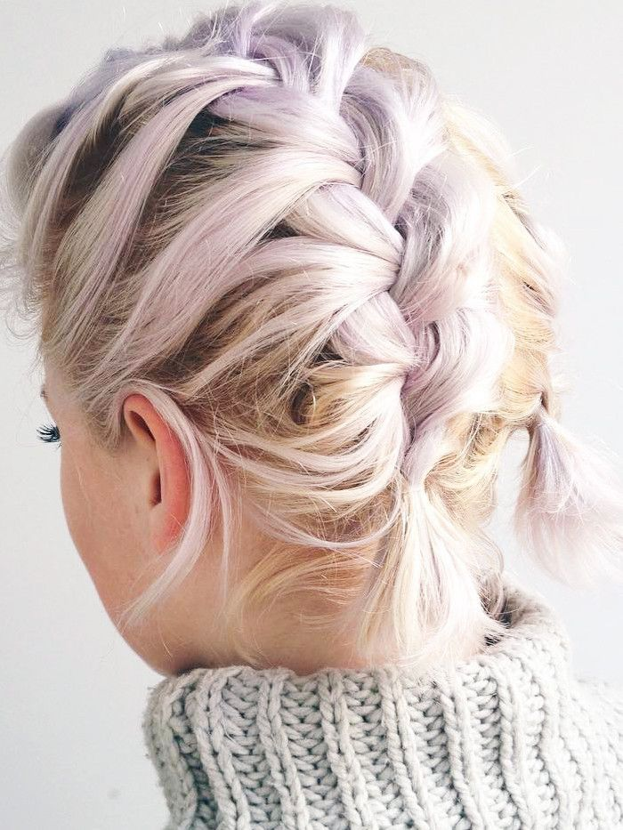 9 Braids That Look Amazing On Short Hair Byrdie Uk