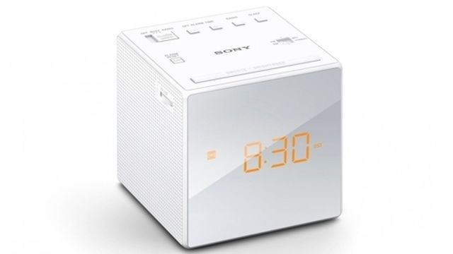 Sony Sony ICF-C1 FM/AM Clock Radio - White