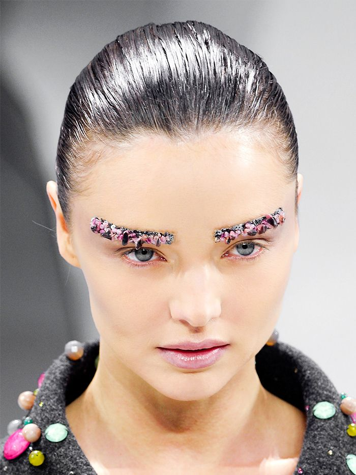 Jaw Dropping 3d Portraits 64 Pics: #TBT: 11 Jaw-Dropping Fashion Week Beauty Looks We'll