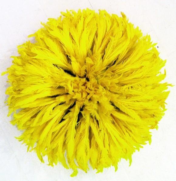 Table Tonic Small Bamileke Feather Juju Hat