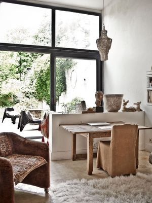 Tour a Brussels Home With Dreamy Pastoral Style
