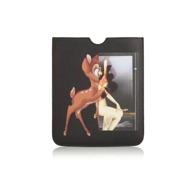 Givenchy Bambi iPad case in printed coated-canvas