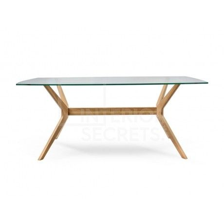 Interior Secrets Nora 1.85m Dining Table - Natural