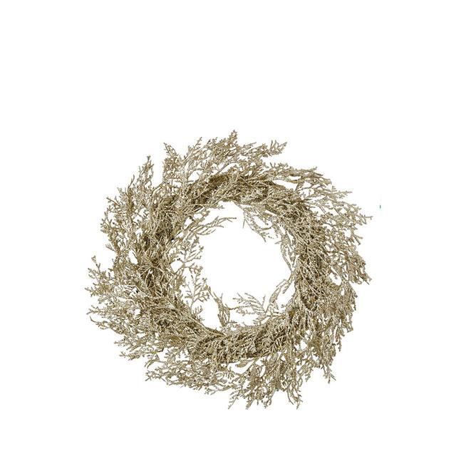 Vue Luxe Glitter Fern Wreath