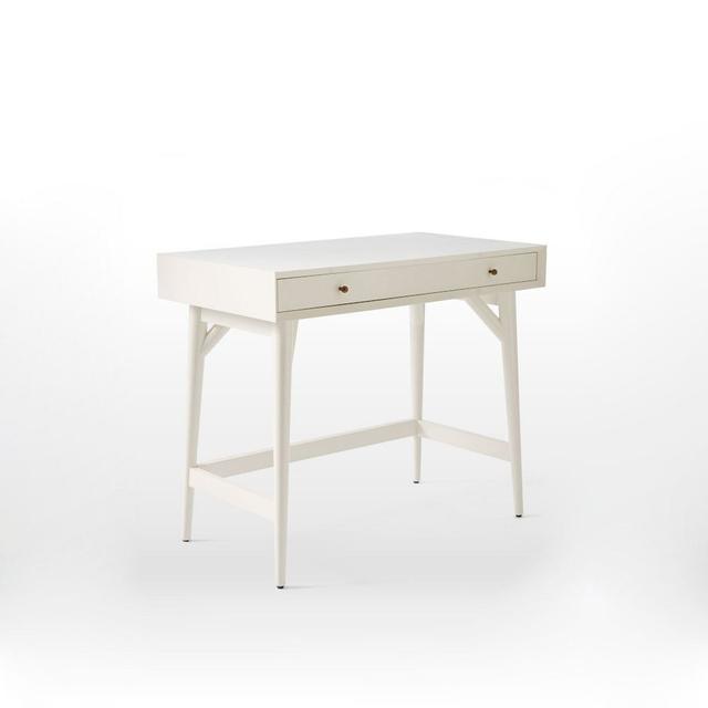 West Elm Mid-Century Mini Desk - White