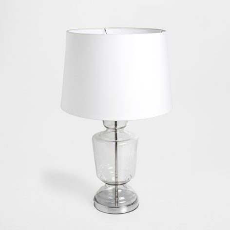 Zara Home Glass vase lamp