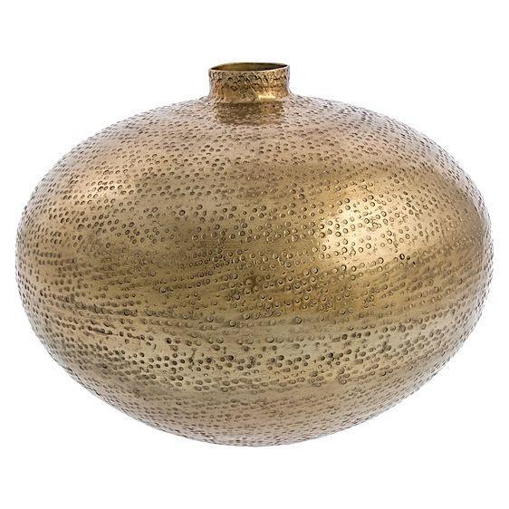 Casa Uno Bubble Hammered Spout Vase