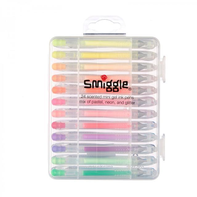 Smiggle 24 Pack Mini Gel Pens