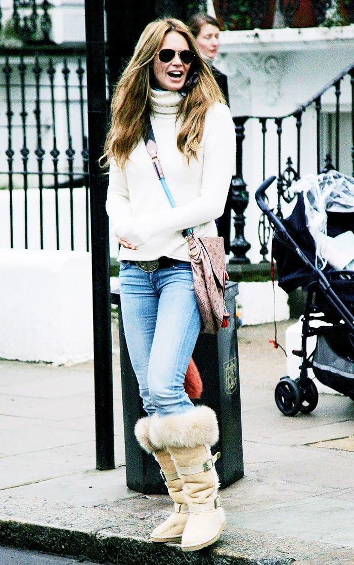 4dcc03048eb 13 Cute Ways to Style Your Uggs This Winter   Who What Wear