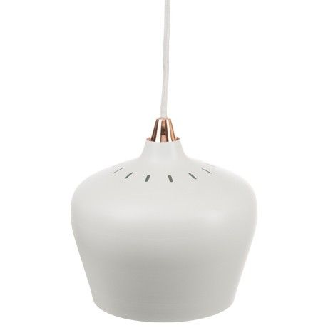 Freedom Zacharia Ceiling Pendant Large in White