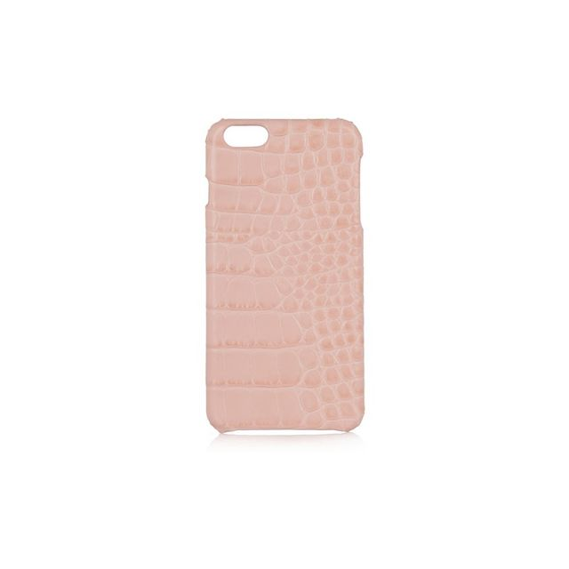 The Case Factory Croc-effect leather iPhone 6 case