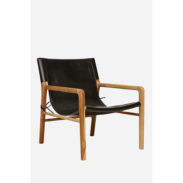 Fenton & Fenton Leather Sling Chair