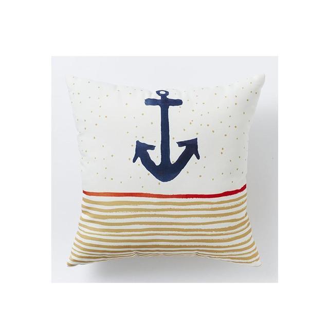 West Elm Outdoor Anchor Stripe Cushion