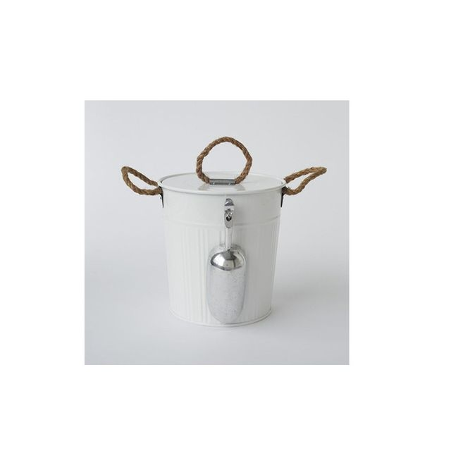 West Elm Outdoor Metal Ice Bucket