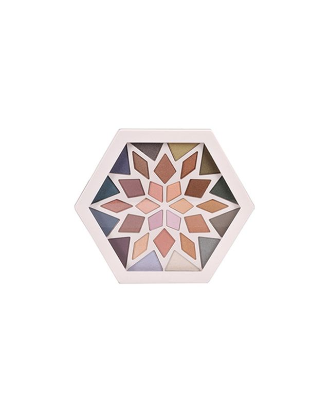 Colour Theory Snowflake Eye Shadow Palette