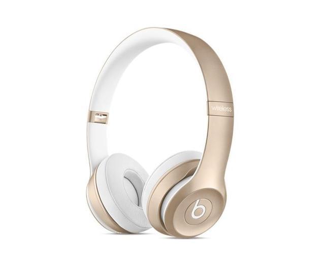 Apple Beats Solo2 Wireless On-Ear Headphones - Gold