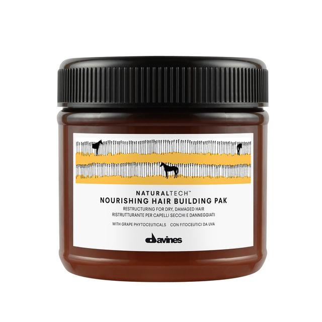 Best Hair Masks for Damaged Hair: Davines Nourishing Hair Building Pak