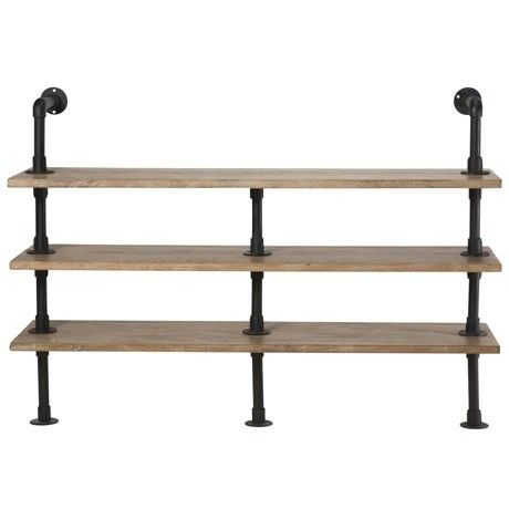 Freedom Conveyor Shelving Unit in Distressed Natural