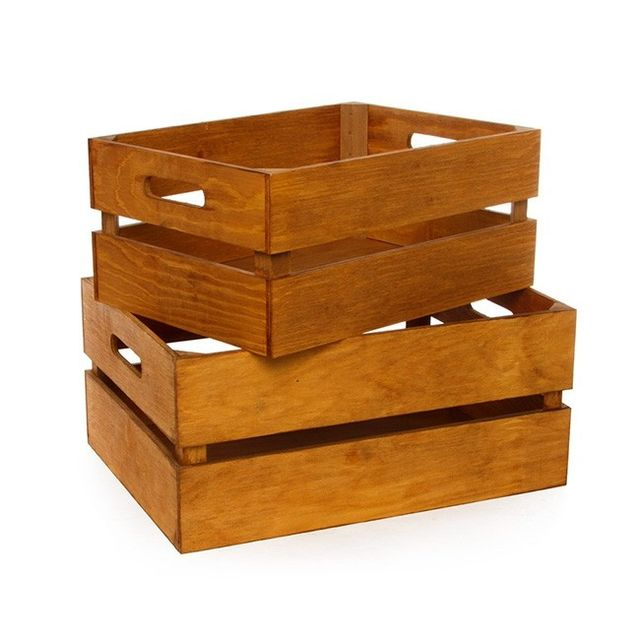 Koch Wood Crate Rectangle