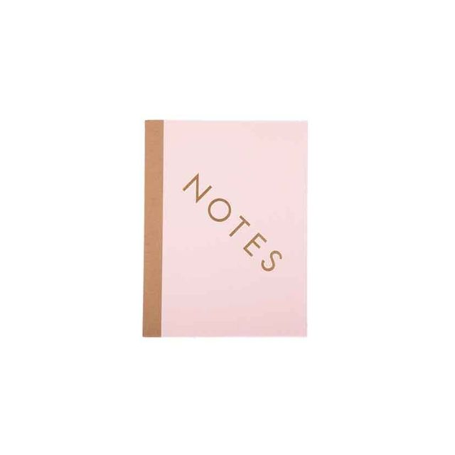 Liberty Trading Co. Notebook - Notes - Pink & Taupe