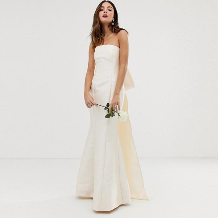bc8d3b4901fb Best High-Street Wedding Dresses: Affordable Bridal Frocks | Who What Wear  UK