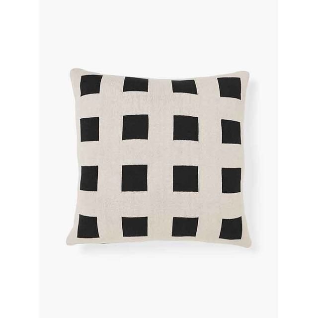 Aura Home Big Squares Cushion