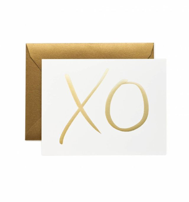 Rifle Paper Co Card Garance Dore - XO - Set of 8