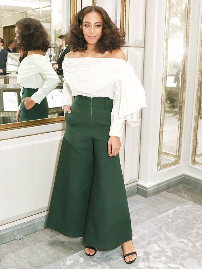 Who to Channel This Party Season Solange Knowles, of Course