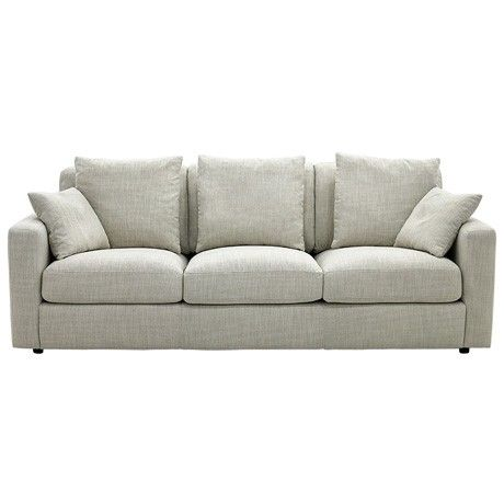 Freedom Benson 3 Seat Sofa in Arden Natural
