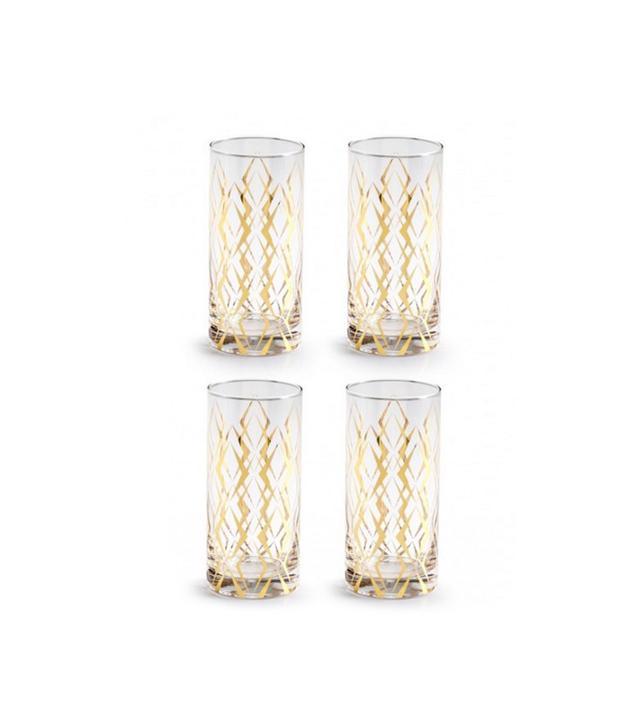Lulu & Georgia Draper Highball Cocktail Glasses