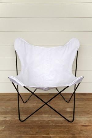Boho Bleu Butterfly Chair