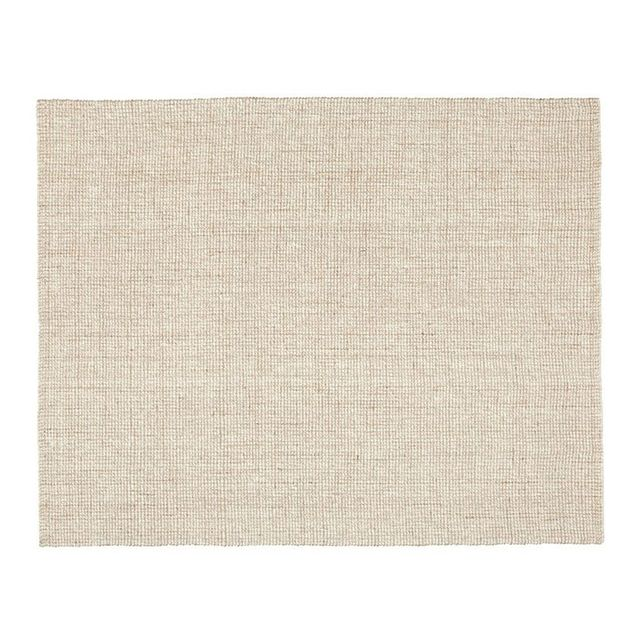 Pottery Barn Chunky Wool & Natural Jute Rug