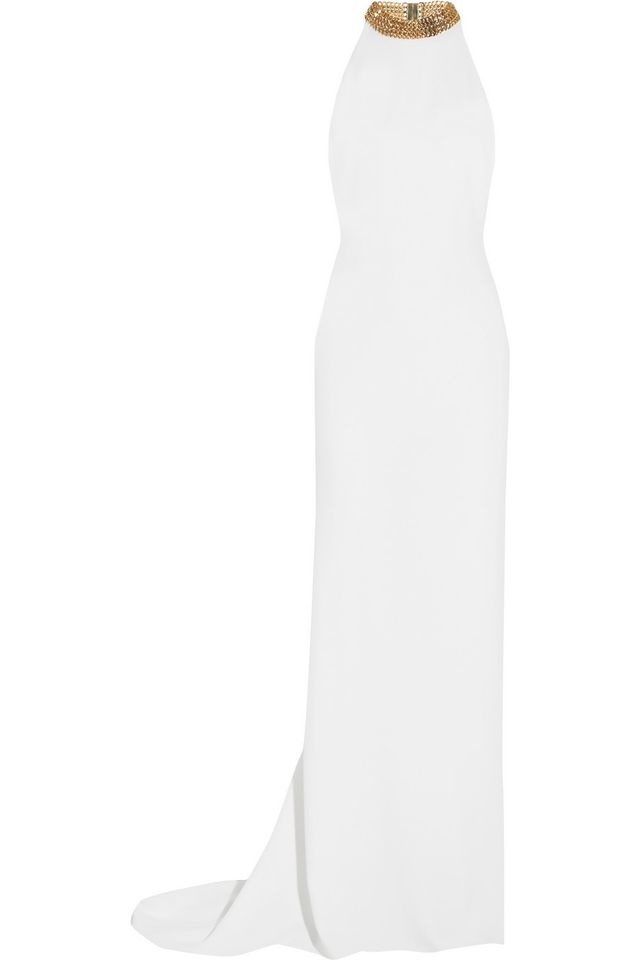 Stella McCartney Halterneck Beaded Gown