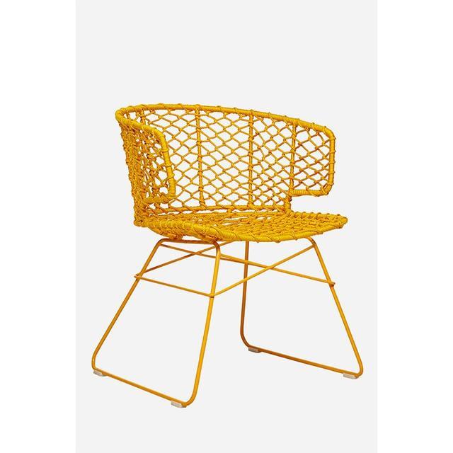 Mustard Breeze Chair