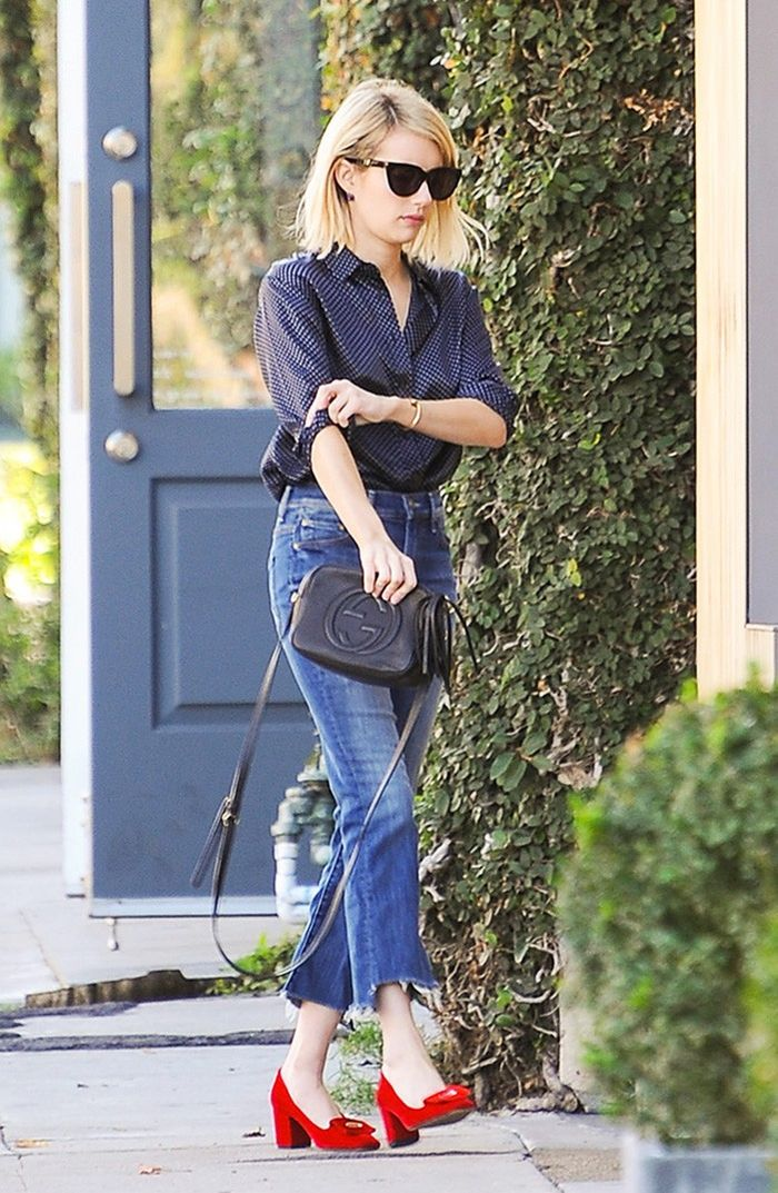 a3a149ae985e The Under- 1K Gucci Bag That Emma Roberts Loves   Who What Wear
