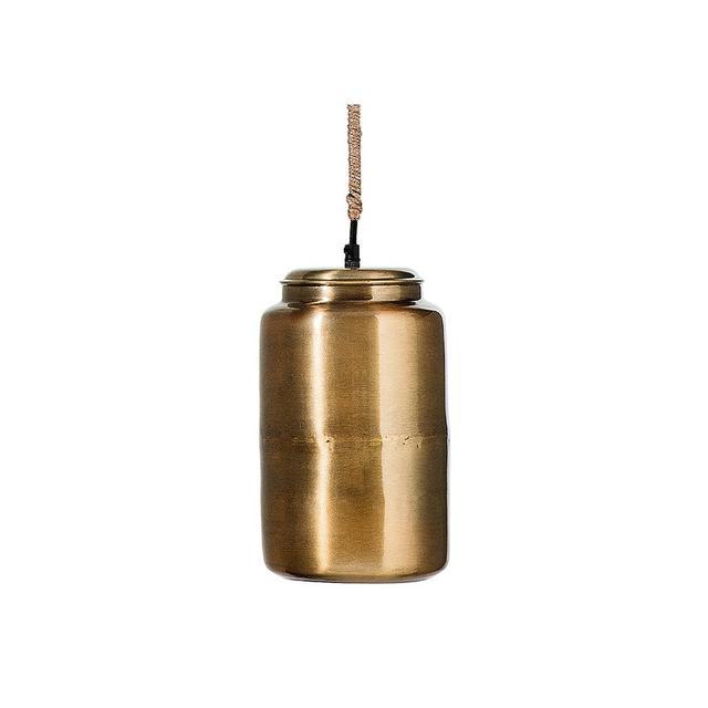 Domayne Vessel Brass Pendant Light Small