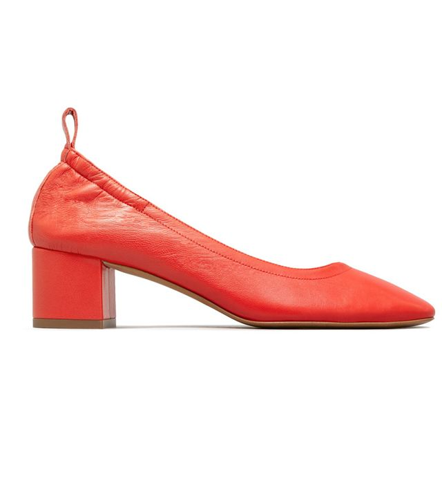 Women's Comfortable Pump by Everlane in Bright Red, Size 11