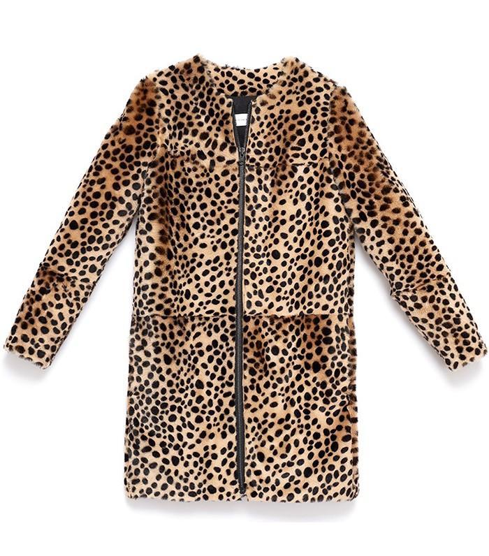 Found: Diane Kruger's Leopard Coat Is Marked Down to Under $1K