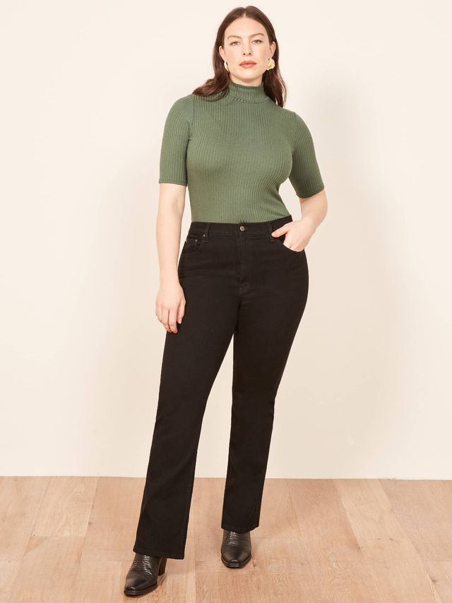Reformation Candice High Bootcut Jeans