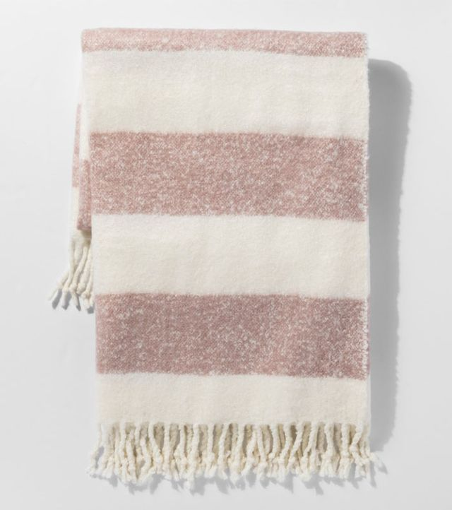 Project 62 Stripe Faux Mohair Throw Blanket
