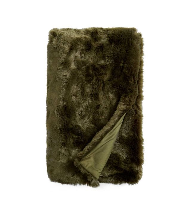 Nordstrom at Home Nordstrom At Home Cuddle Up Faux Fur Throw Blanket
