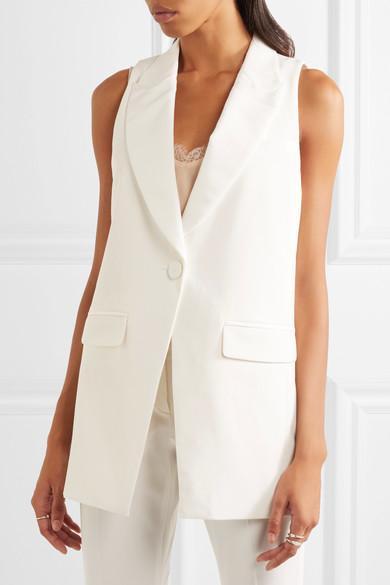 Rachel Zoe Knight Twill Tuxedo Vest