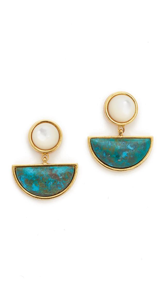 Lizzie Fortunato Geometry Surf Earrings