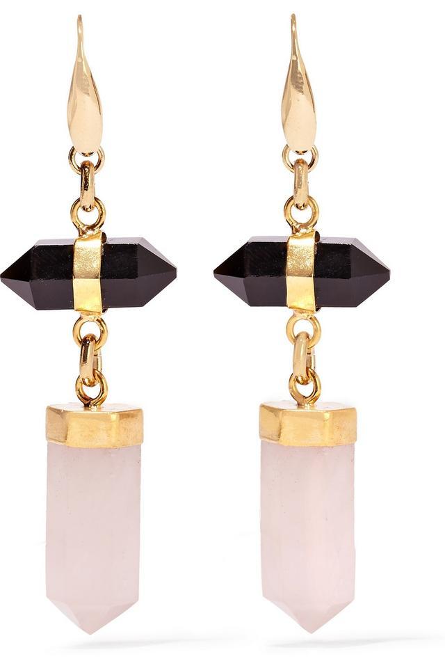 Isabel Marant Santa Gold-Tone Earrings