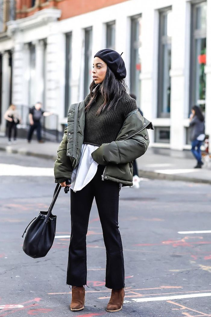 8d0296618ee The Best of New York Winter Street Style | Who What Wear