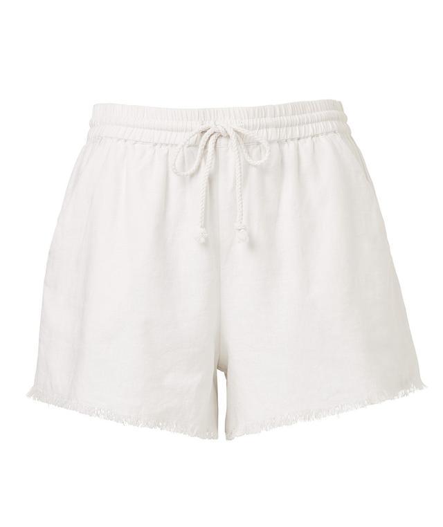 Sportsgirl Linen Jogger Shorts