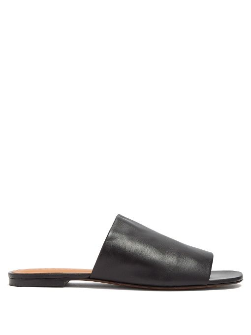 Clergie Itou Leather Slides