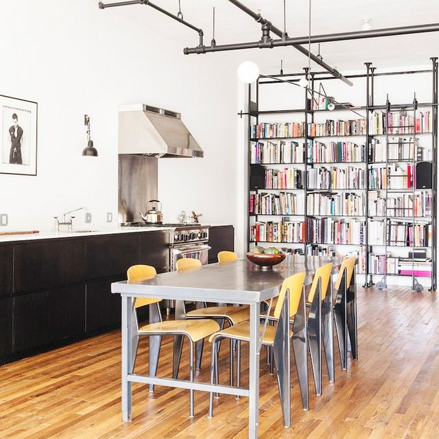 Tour a Family's Hip Industrial Loft in New York