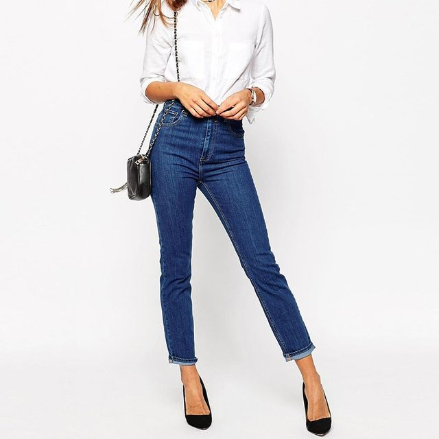 ASOS Fareleigh High Waist Mom Jeans